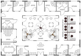 sample house plans office layout plans solution conceptdraw com