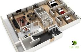 create house floor plan house plans with 3d interior images homes zone