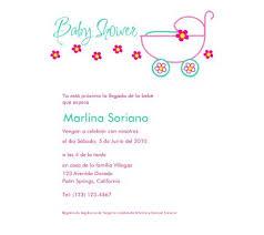 spanish baby shower invitations spanish baby shower invitations