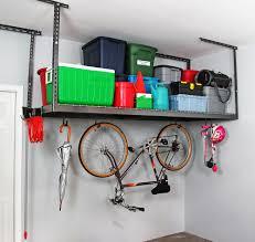 Garage Shelves Diy by Space Saver Saferacks Ceiling Hung Shelves Overhead Garage