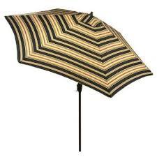 Striped Patio Umbrella Stripe Market Umbrellas Patio Umbrellas The Home Depot