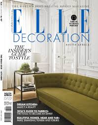 Home Decor Co Za by Modern Life Design With Grundig Elle Decoration