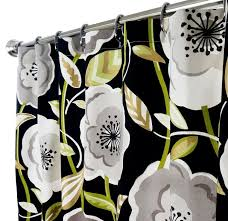 And Black Fabric For Curtains Fabric Shower Curtains In Our Fabric Or Yours