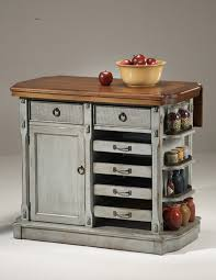 diy cute and green kitchen island idea made of antique dresser for