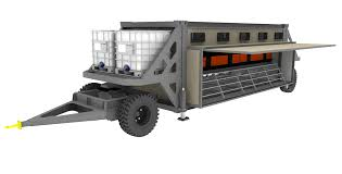 tc1400 chicken caravan by transcoop pastured poultry systems