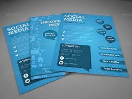 social media brochure template social media brochure template social media flyer template