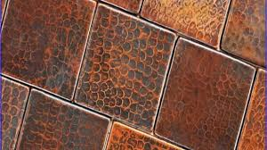 copper backsplash tiles for kitchen 27 trendy and chic copper kitchen backsplashes digsdigs new