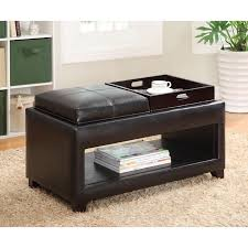 Ottoman With Flip Top Tray Furniture Of America Vanity Storage Bench With Flip Top Tray