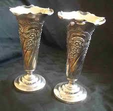 Tin Vases Britannia Metal