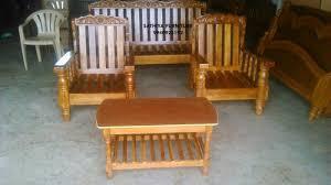 Teak Wood Sofa Set At Rs  Set Lakdi Ka Sofa Set Sathiya - Teak wood sofa sets