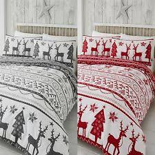 Christmas Duvet Cover Sets Christmas Duvet Cover Xmas Bedding Ebay