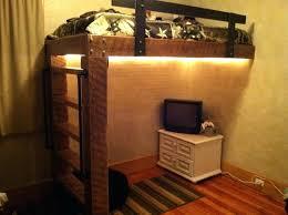 Rustic Bunk Bed Rustic Loft Bed Rustic Log Bunk Beds Shinesquad