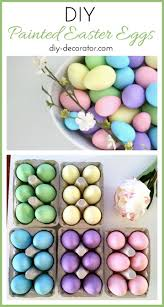 colors abstract painted easter eggs origin with decal blue