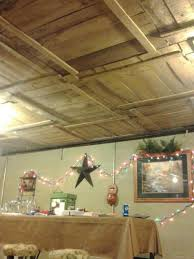 ideas for ceilings diy basement ceiling with old pallet crate lids this is really
