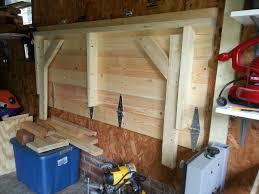 diy pulldown workbench for the garage plassbesparende løsning