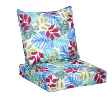 Turquoise Lounge Chair Hampton Bay Multi Tropical 2 Piece Deep Seating Outdoor Lounge