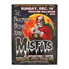 official misfitsthe nightmare before poster misfits shop