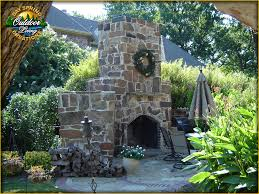Backyard Stone Fire Pit by Fire Outdoor Fireplaces Italian Ovens Kitchens Stone Fire Pits