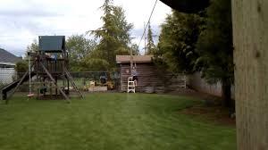 Building A Zip Line In Your Backyard by 75 U0027 Oregon Zipline Tire Stop Testing New Build Youtube