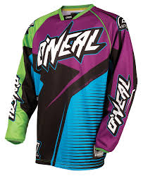 purple motocross gear o u0027neal dirt bike u0026 motocross jersey u0027s u2013 motomonster