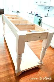 build kitchen island table how to build a small kitchen table lovable rustic throughout island