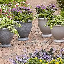 Faux Stone Planters by Planters Flower Pots Kmart