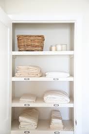 linen closet organize a hall linen closet