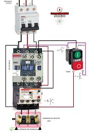 wiring magnetic contactor diagram efcaviation com