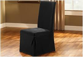 Black Dining Chair Covers Scintillating Black Dining Room Chair Slipcovers Pictures Best