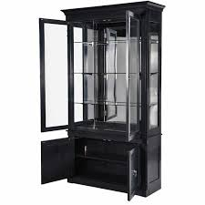 black cabinet with glass doors black display cabinet with glass doors 26 with black display cabinet