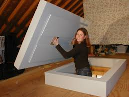 lowes attic stairs tips installation plans option install garage