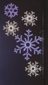 Blue Snowflakes Decorations Pole Decoration Snowflake Array Pure White U0026 Blue 1510 1