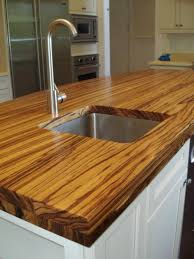 Countertops For Kitchen Decor Appealing Butcher Block Counters For Kitchen Decoration