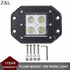 flush mount led lights 12v 12w flush mount led work light 12v 24v for ford truck trailer 4wd