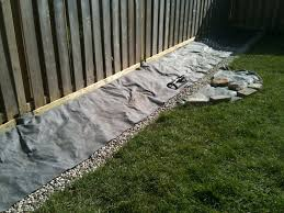 yard drainage trench backyard and yard design for village