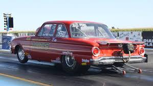 Old Ford Truck Drag Racing - 1962 ford falcon launching wheels up maintenance of old vehicles
