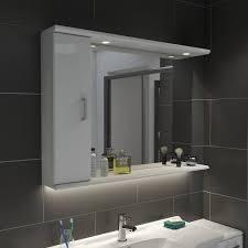 sienna white 105 mirror with lights new house bathroom ideas