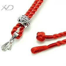 cord necklace silver clasp images 2mm pure cotton cord necklace with sterling silver beads and clasp jpg