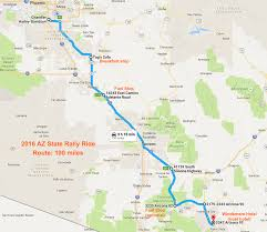Map Of Arizona Highways by Riding Maps Foothills H O G Chandler Arizona