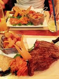 la cuisine des tontons bavette avec petits légumes tartare chorizo picture of la