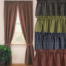 Long Drapery Panels Curtains Drapes U0026 Valances Ebay