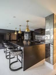 ilot central cuisine contemporaine la cuisine équipée avec îlot central 66 idées en photos
