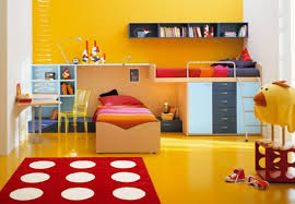 bedroom colors for kids interior design