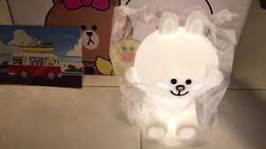 lampe miffy 80 cm cony hug me led touch lamp youtube