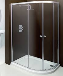Merlin Shower Doors Offset Quadrant Shower Doors