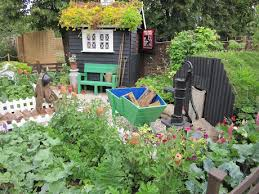 Garden Allotment Ideas Allotment I Like The Shelter On The Right Shabby Chic Gardens