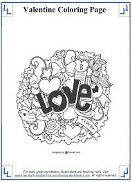 coloring pages valentines coloring valentines