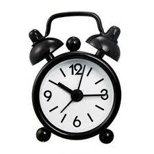 bureau num駻ique mini bureau numérique horloge mignon alarme de métal horloge