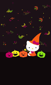 halloween wallpaper pattern dazzle my droid hello kitty halloween wallpaper collection even