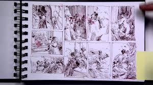 john park sketchbooks part 1 of 2 youtube